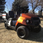 2019 Yamaha UMAX 1 Noble Orange EFI Gas