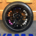 12″ MJFX Gloss Black With Inserts