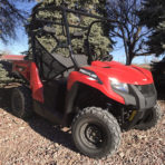 2020 Arctic Cat Prowler 500 Red (EPS)